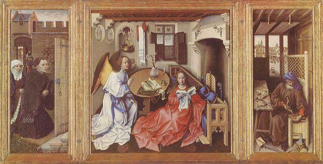 メロードの祭壇画