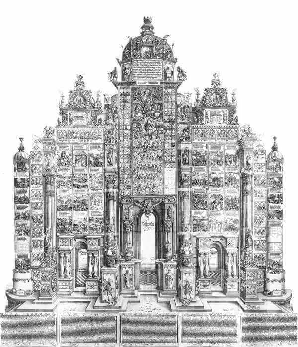 マクシミリアン一世の凱旋門