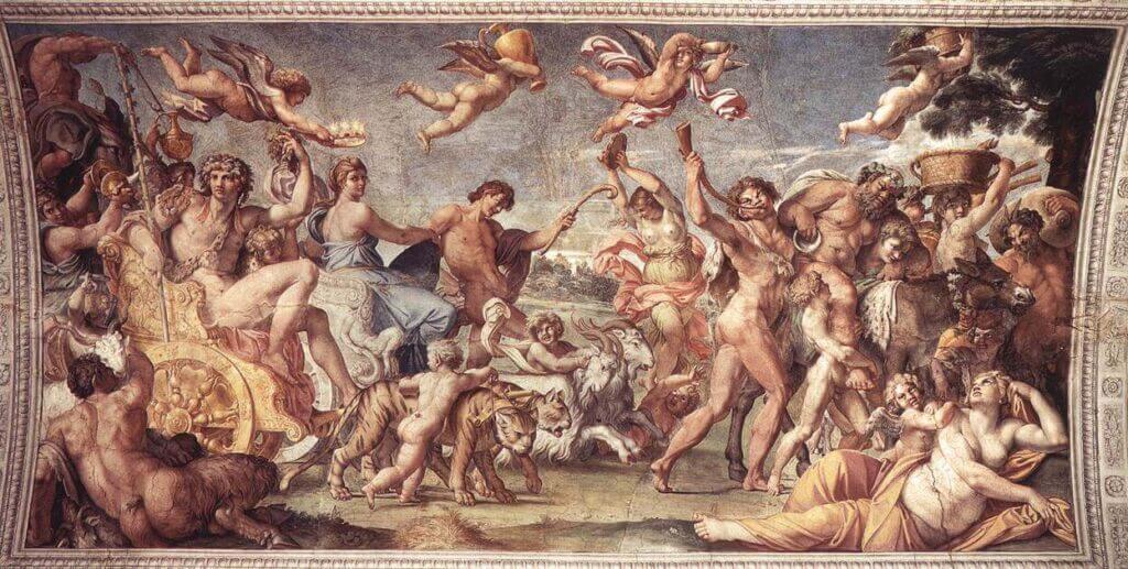 バッカスとアリアドネの勝利